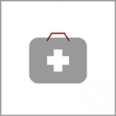 Ikona symbolizująca ochronę zdrowia.