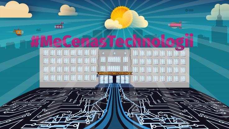#MeCenasTechnologii - ilustracja